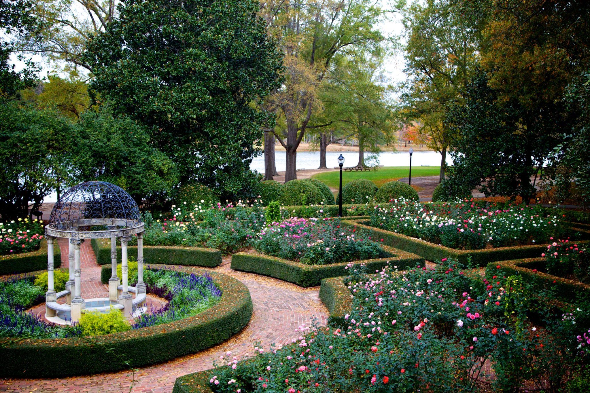 Furman University Rose Garden