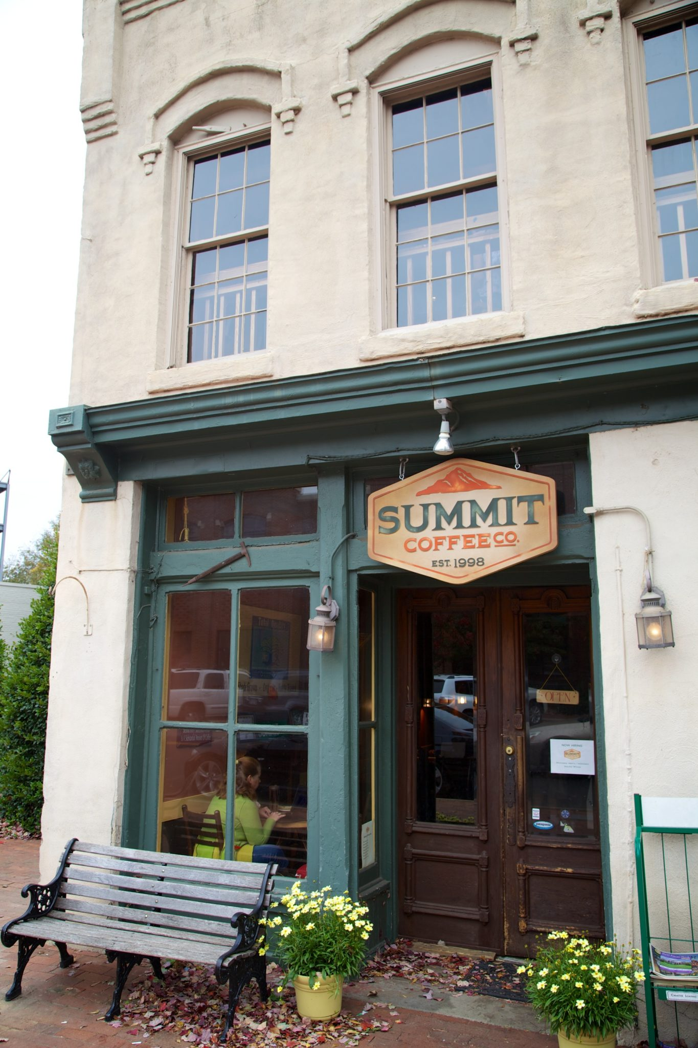 Summit coffee was great