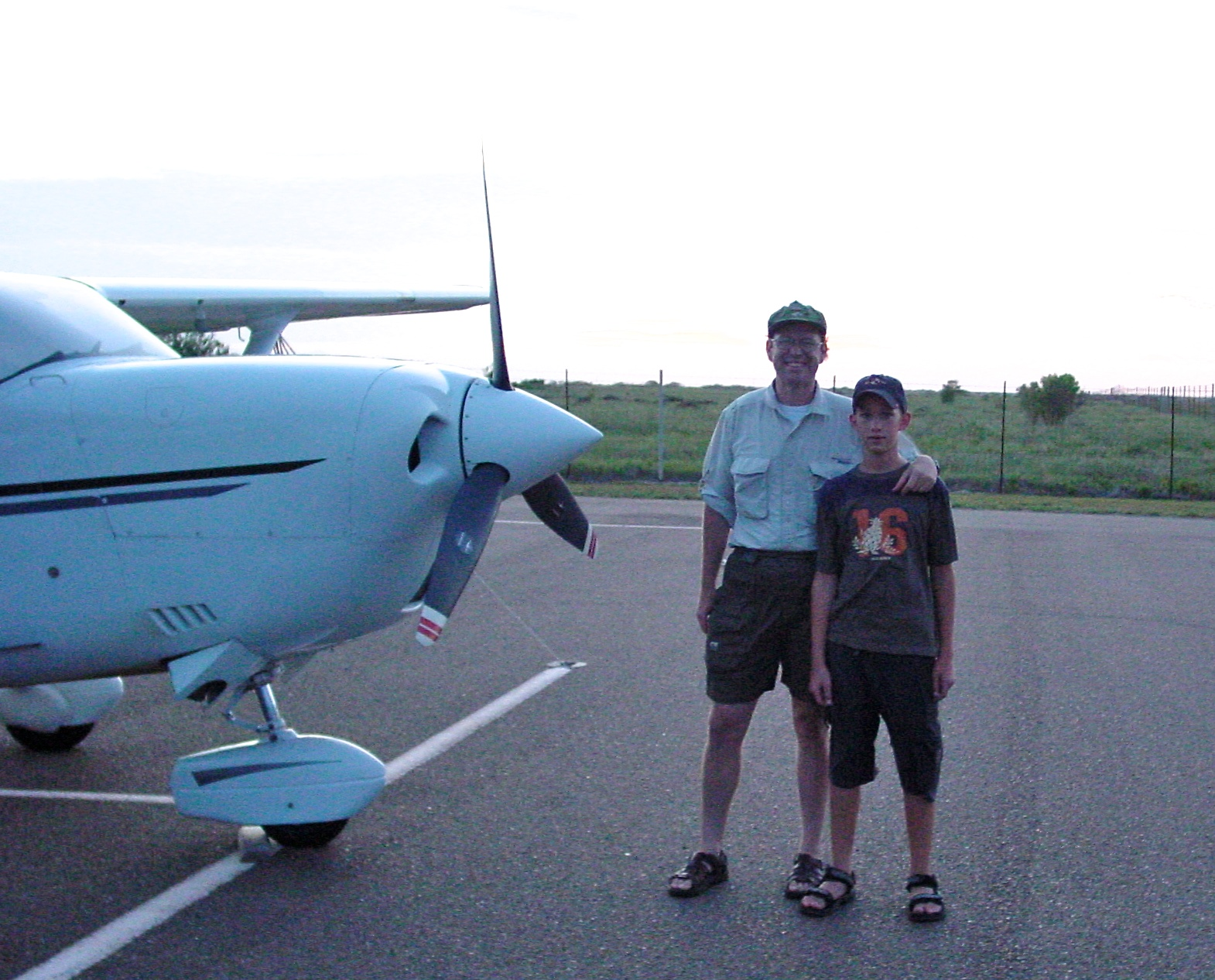 Coast of Texas Flyfishing August 2001