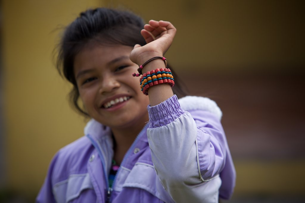 Anna Lucia, she loved this bracelet I gave her..