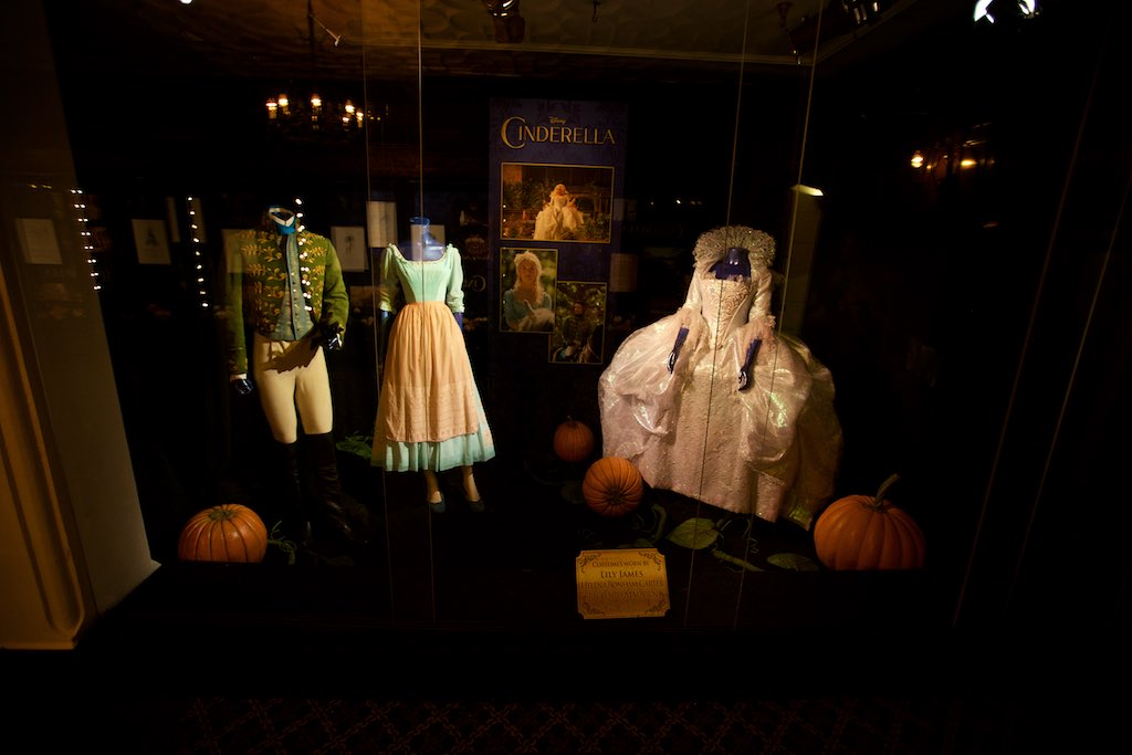 Costumes from the movie Cinderella